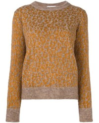 Leopard pattern jumper medium 3649221