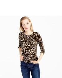 J.Crew Tippi Sweater In Leopard Print