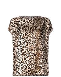 Alberto Biani Leopard Print T Shirt