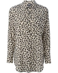 DKNY Leopard Print Shirt