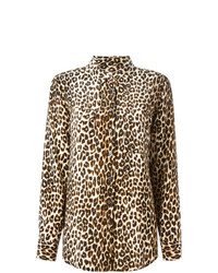 Leopard print shirt medium 7802406