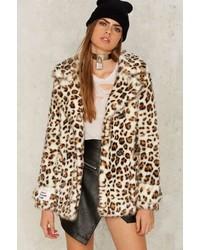 Factory Jakke Marsha Leopard Coat