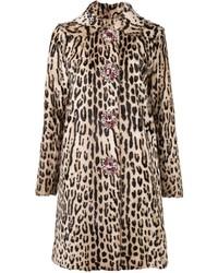 Leopard print coat medium 814453