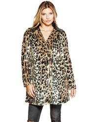 GUESS Nevra Faux Fur Coat