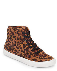 Serene leopard print high top sneakers medium 534792