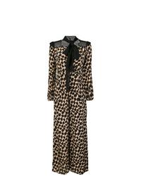 Dvf Diane Von Furstenberg Long Sleeve Jumpsuit