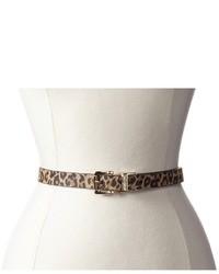 MICHAEL Michael Kors Michl Michl Kors 20mm Reversible Belt With Leopard Print