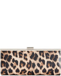 Carolyn leopard clutch medium 76305