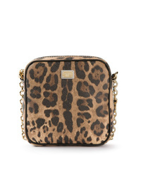 Dolce & Gabbana Leopard Print Mini Shoulder Bag