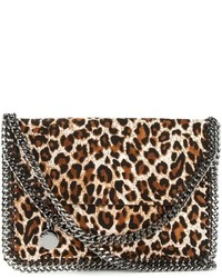 Stella McCartney Falabella Leopard Crossbody Bag