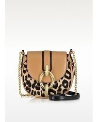 Sutra mini leopard jacquard crossbody bag medium 66281