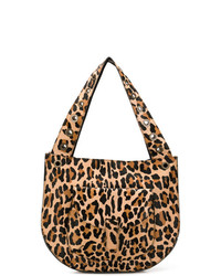P.A.R.O.S.H. Leopard Large Shoulder Bag