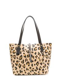 Coach Leopard Print Market Tote