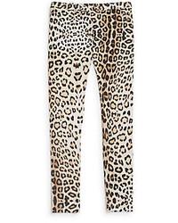 Roberto Cavalli Girls Leopard Print Leggings