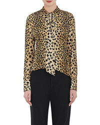 Chlo leopard print blouse medium 3650049