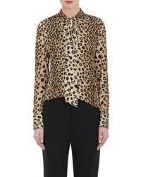 Chloé Chlo Leopard Print Blouse