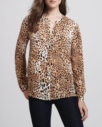 Where To Buy A Leopard Print Blouse 71