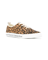 Leopard print lace up sneakers medium 7251247