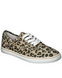 Mossimo Supply Co. Leopard Print Sneakers Brown 8