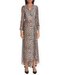 Ganni Print Tte Dress