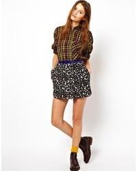Asos Africa Skirt In Leopard
