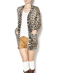 Ellison leopard print cardigan medium 3649723