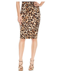 Animal print scuba pencil skirt medium 369209