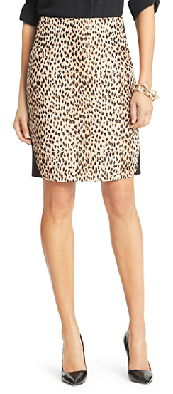 c3f3d0ee49 Diane von Furstenberg Emma Leopard Woven Pencil Skirt, $285 | DVF ...