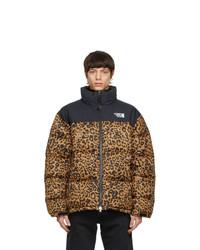 Vetements Black Leopard Limited Edition Puffer Jacket