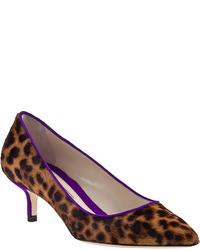 Degas pump leopard hair calf medium 11976