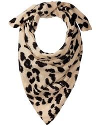 Vince Camuto Leopard Bandana Scarves