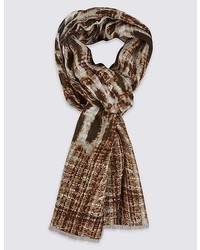 Marks and Spencer Leopard Print Scarf