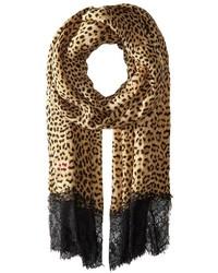 Betsey Johnson Swanky Leopard Wrap