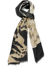 Violet Del Mar Leopard Print Scarf
