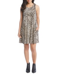 Karen Kane Chloe Leopard Print Sleeveless Dress