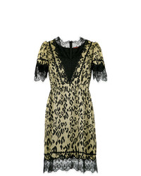 À La Garçonne Leopard Dress