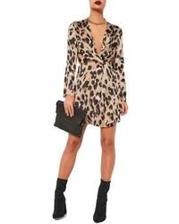 Missguided Leopard Print Dress