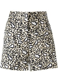 Stella McCartney Leopard Print Shorts