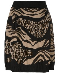 Leopard zebra print skirt medium 3649167