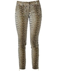 Ungaro Emanuel Leopard Print Jeans