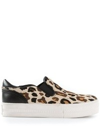 Jungle combo leopard print plimsoll medium 17582