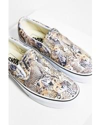 Vans Leopard Slip On Sneaker