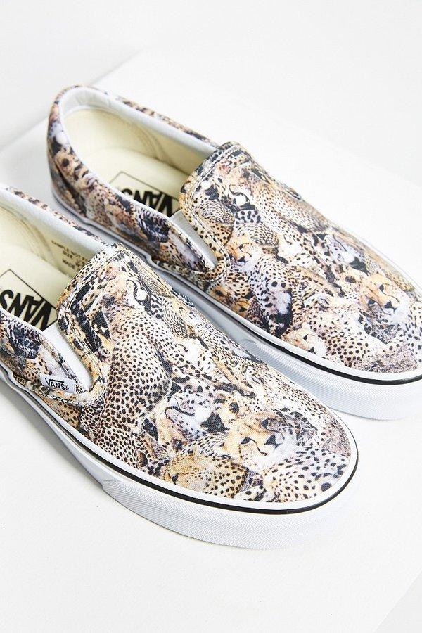 ... Vans Leopard Slip On Sneaker ... 0097484a9