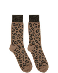 Versace Beige Socks