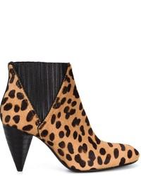 Leopard print boots medium 369895