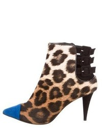 Printed pony hair boots medium 6469633