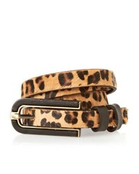 Ollie nic larry leopard belt leopard medium 145626