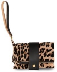 Marni Leopard Print Pochette