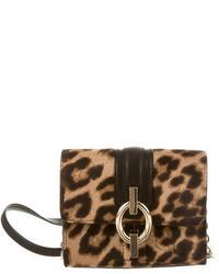 Diane von Furstenberg Leopard Print Crossbody Bag