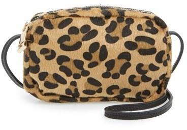 789f686ae655 Street Level Leopard Print Mini Crossbody Bag, $32 | Nordstrom ...